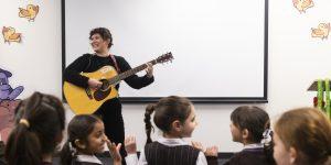 Fostering child development through music