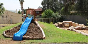 New nature playground opened at Louise Place