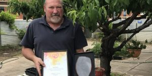 Colin Axford named South Australian Youth Worker of the Year